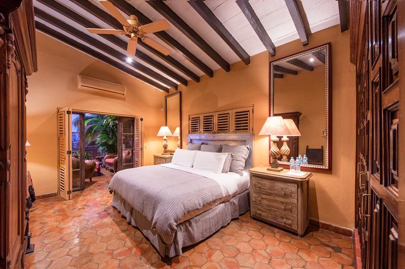 Suite 19 facing patio