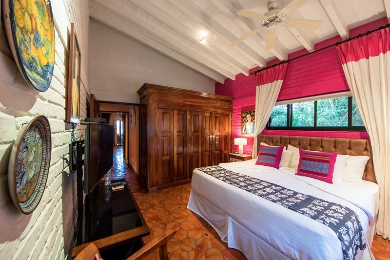 suite 29 bedroom parota closet and tv