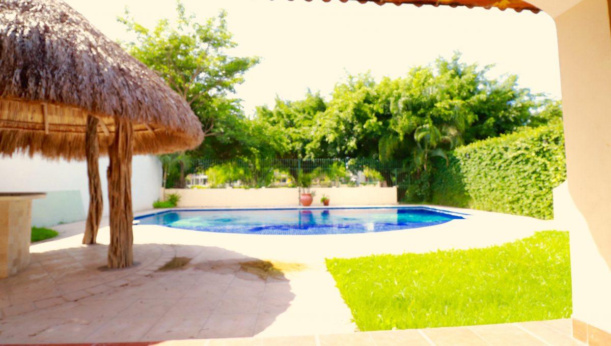 Palapa and Pool
